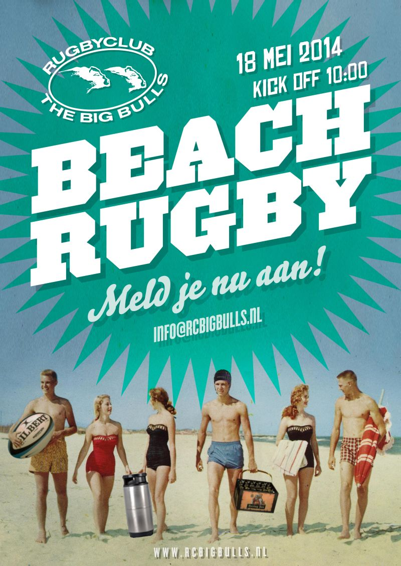 Beachrugby 18 Mei Big Bulls